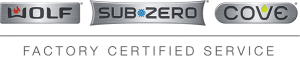 Wolf, Sub-Zero, Cove Factory Certified Service